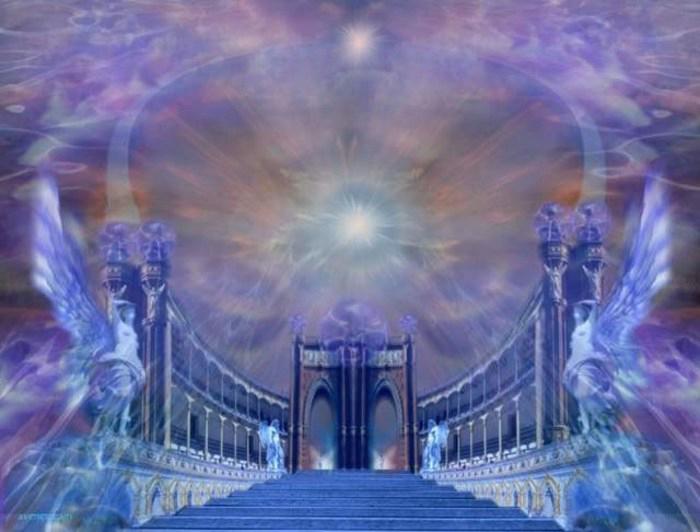 Райские картины духовного мира и описание царства бога